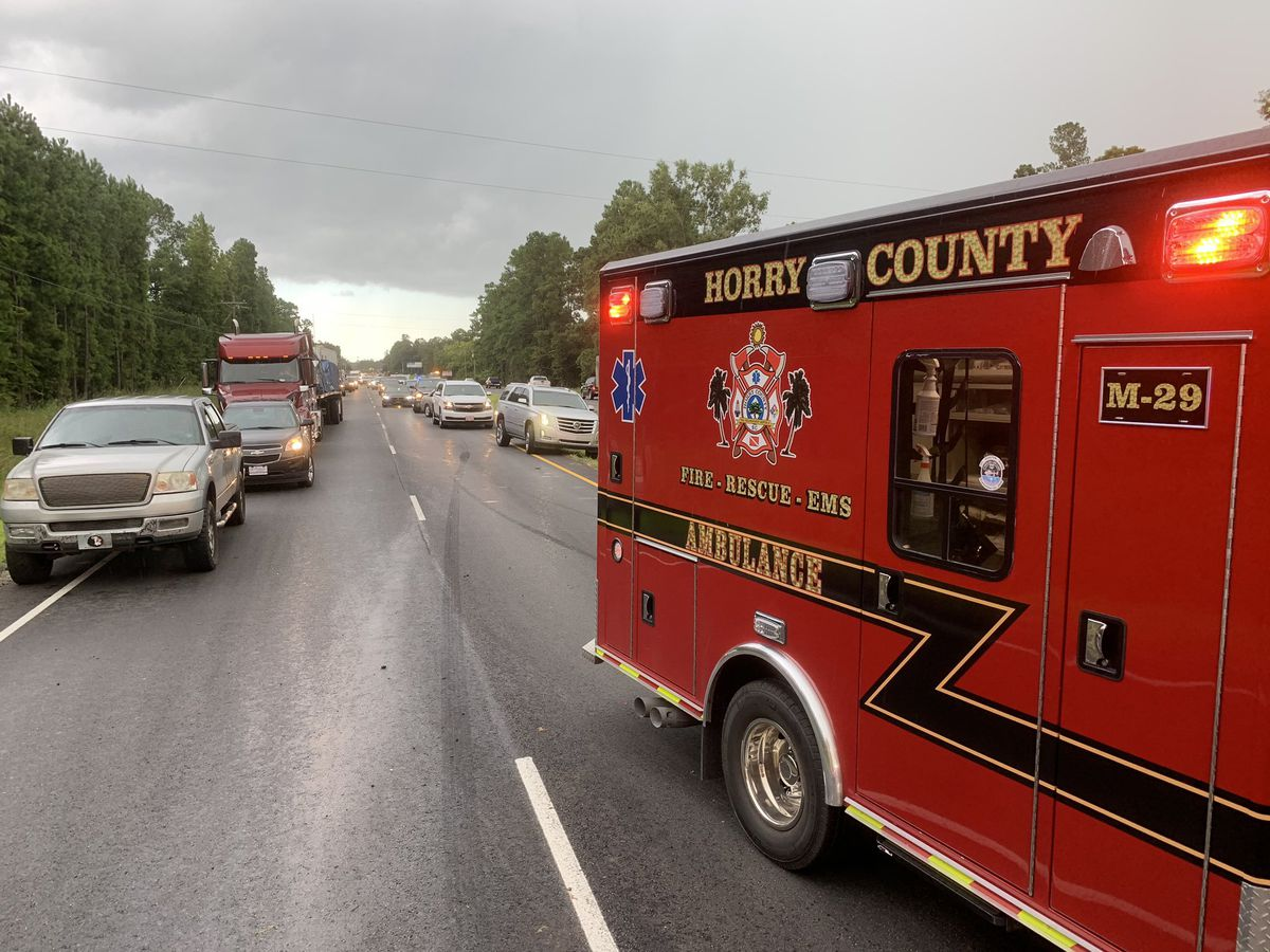 One dead after two-vehicle crash on U S  501 Friday