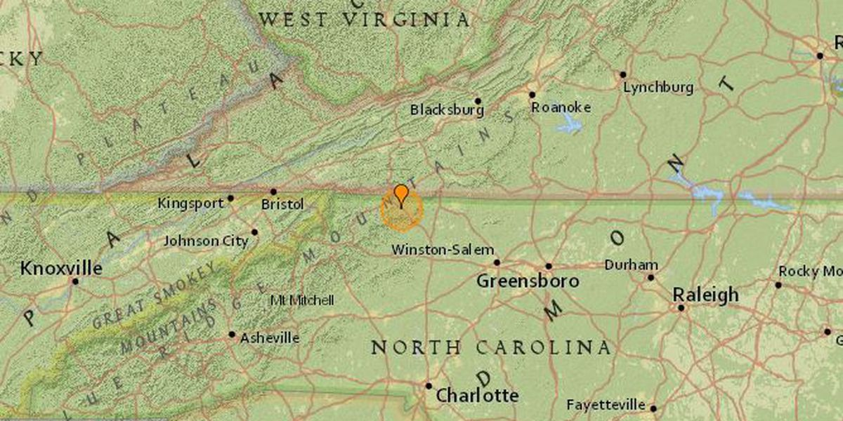 2.2 magnitude aftershock reported near Sparta following Sunday earthquake