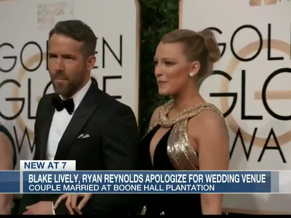 Ryan Reynolds says he regrets having wedding at Boone Hall Plantation