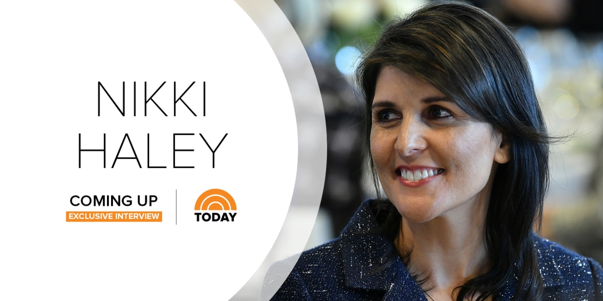 Nikki Haley sits down with Craig Melvin on 'TODAY' Show for first interview since resignation