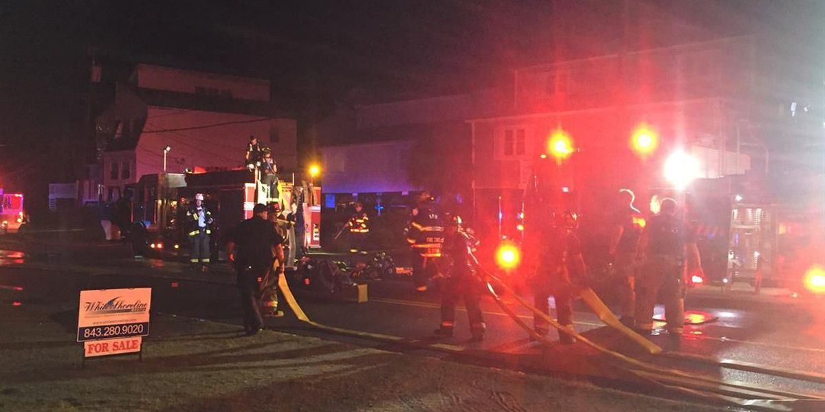 Woman injured during house fire in North Myrtle Beach