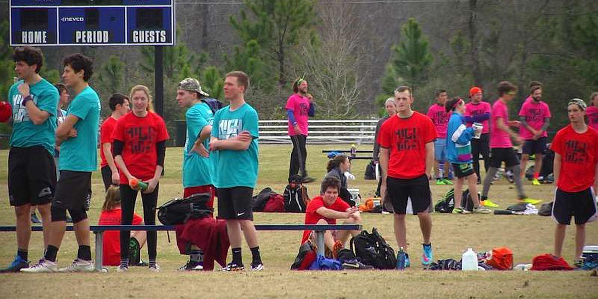 Ultimate Frisbee Tournament in North Myrtle Beach