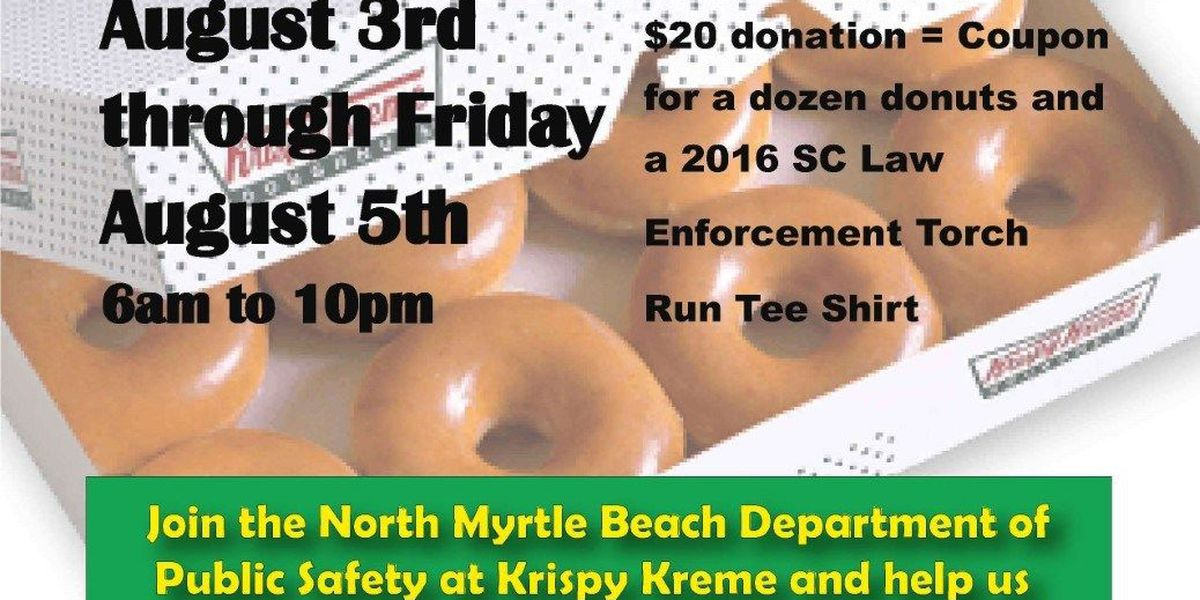 North Myrtle Beach Public Safety personnel raise funds for Special Olympics