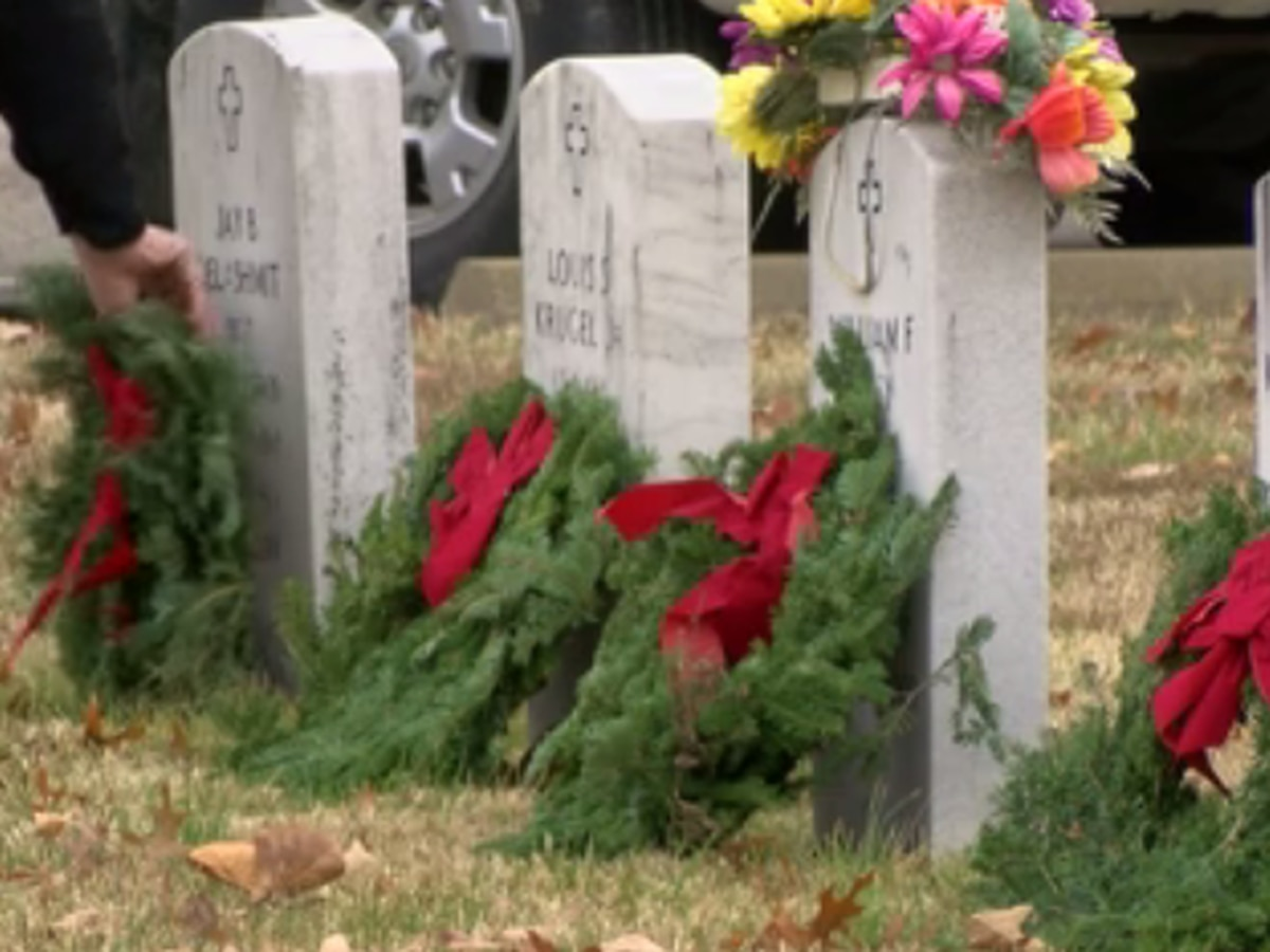 Wreaths Across America honors the lives of veterans who have given the ultimate sacrifice