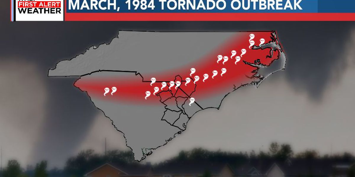 FIRST ALERT: Looking back at the historic tornado outbreak of March 28, 1984