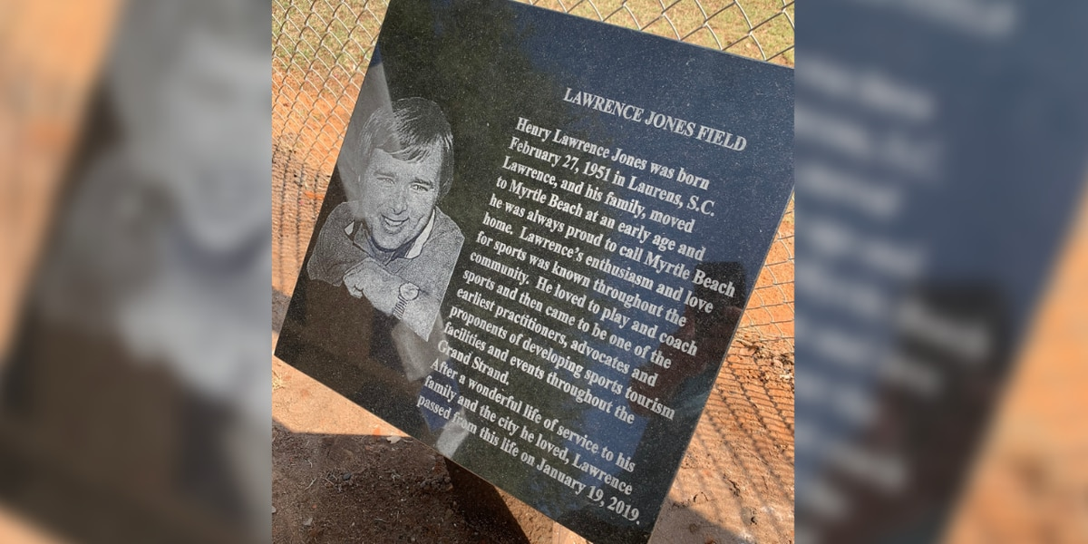 Myrtle Beach renames field after longtime resident, sports tourism pioneer
