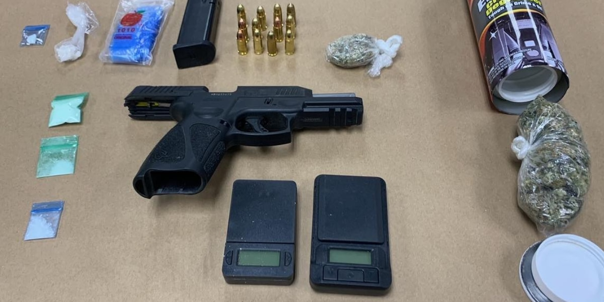 NC man charged after drugs, firearm found during traffic stop in Horry County