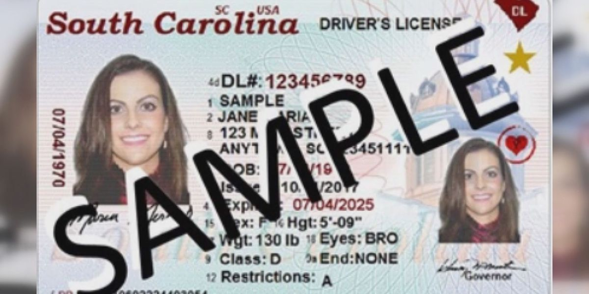 SCDMV urging South Carolinians to get Real ID sooner rather than later