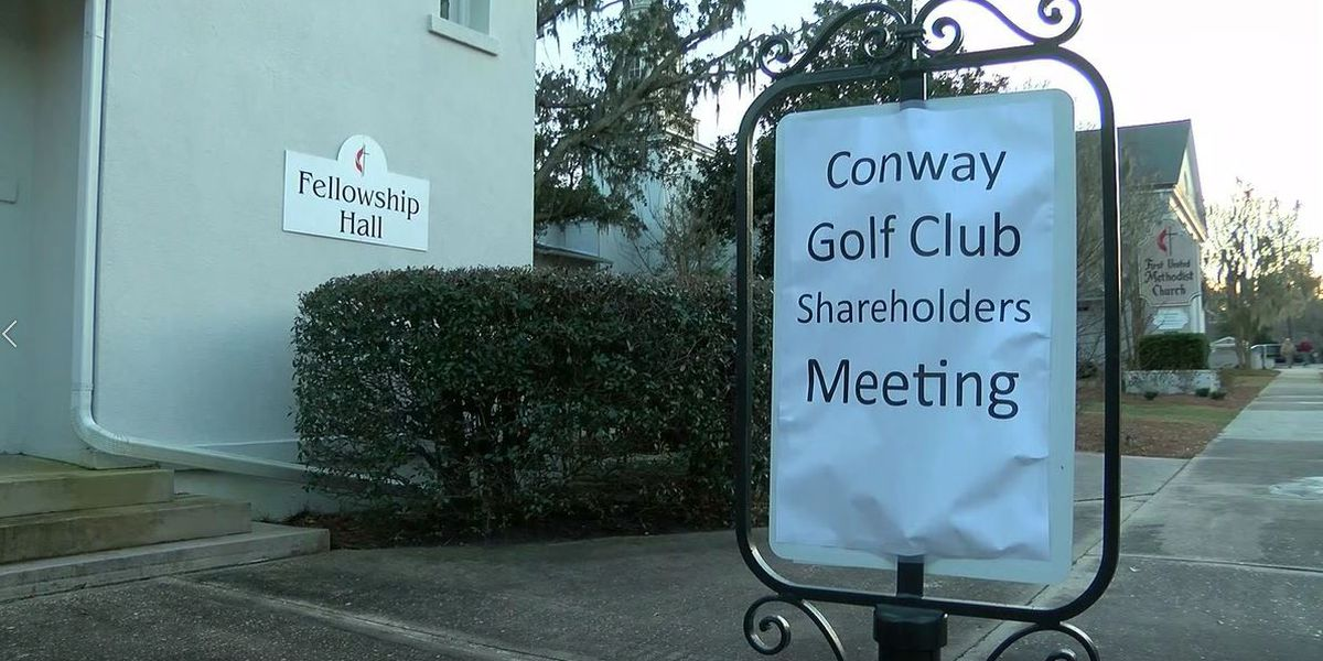 Shareholders hold meeting to discuss sale of Conway Country Club