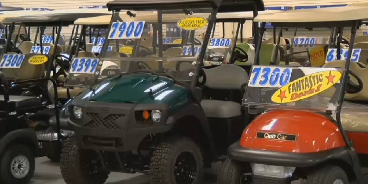 Former manager accused of stealing and selling golf carts from Surfside Beach store