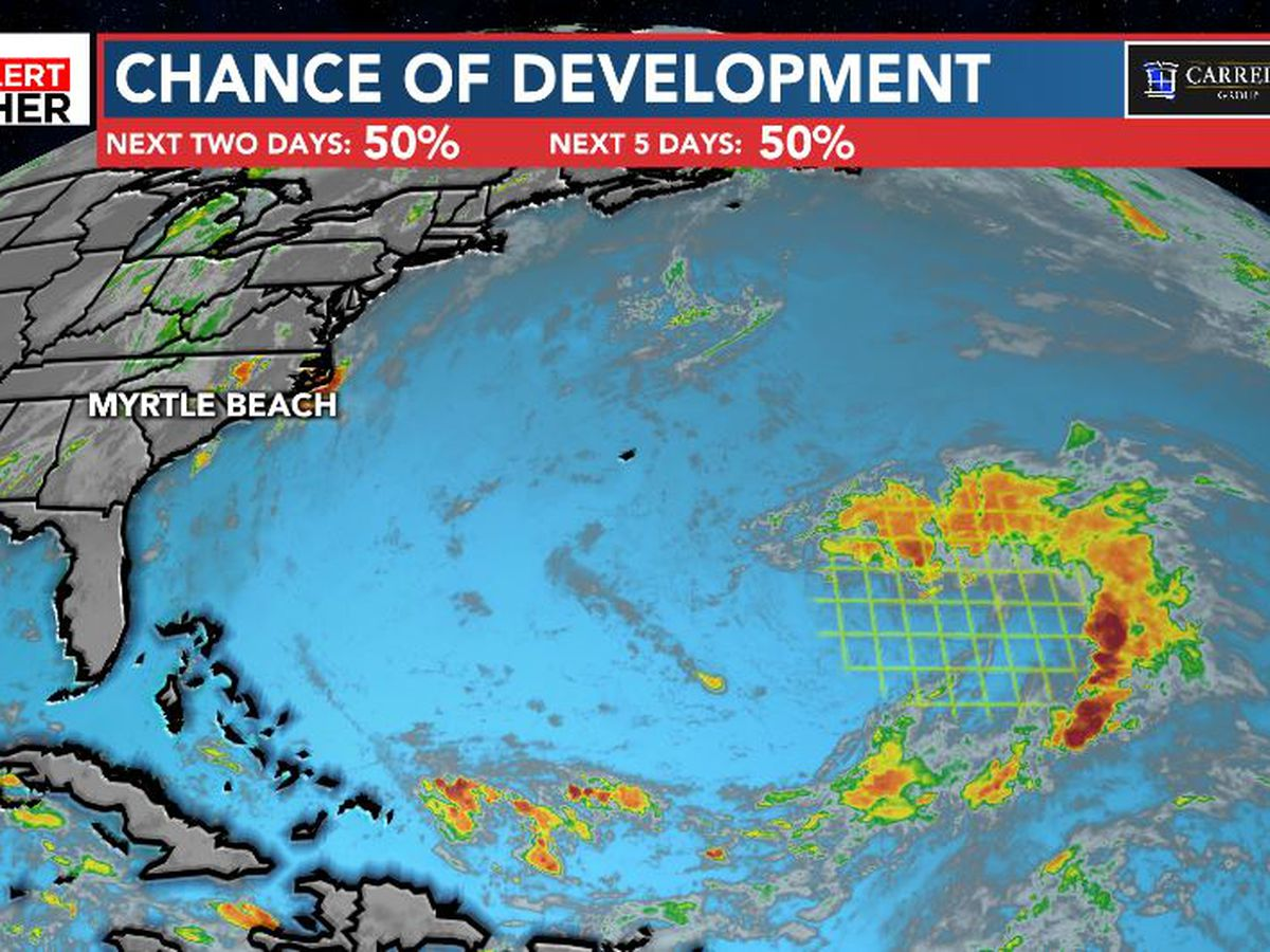 FIRST ALERT: Tropical development more likely in the central Atlantic