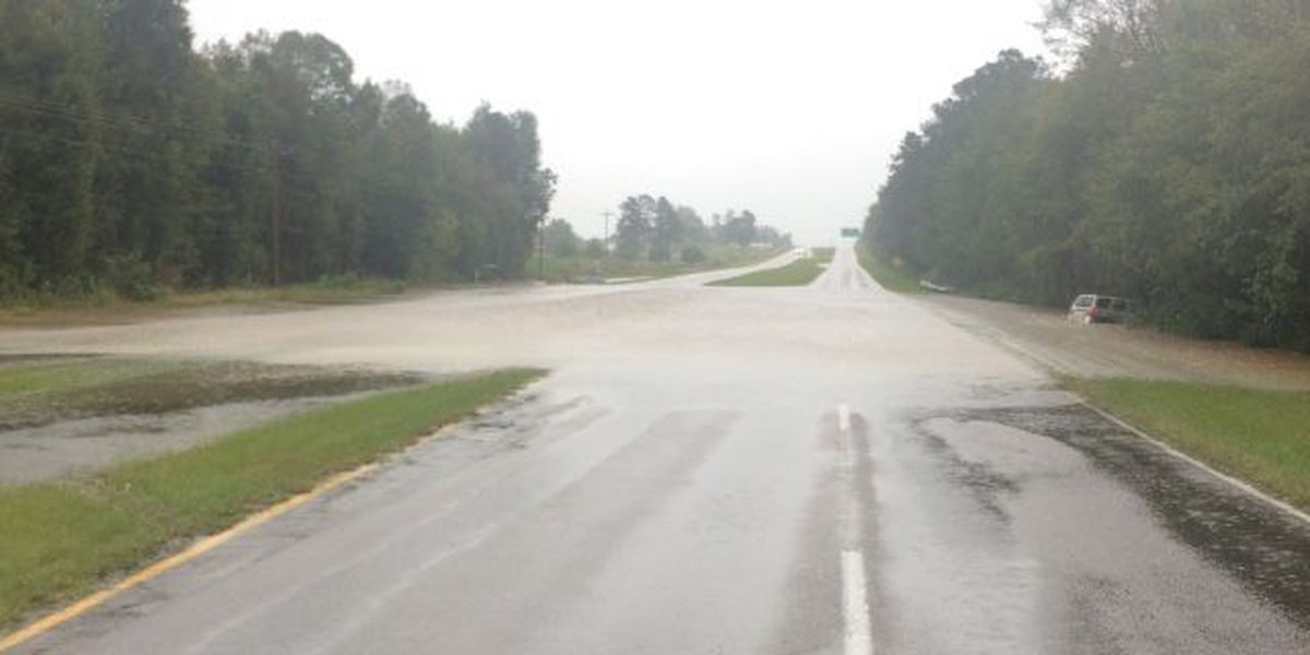 UPDATE: Closed roads, roadway flooding reported across Grand Strand and Robeson Co.