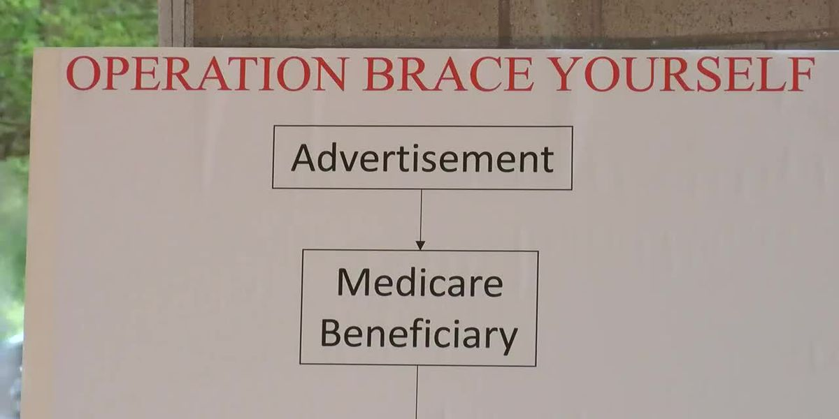 Feds, US Attorney uncovers nearly $1 billion Medicare fraud scheme dubbed 'Operation Brace Yourself'