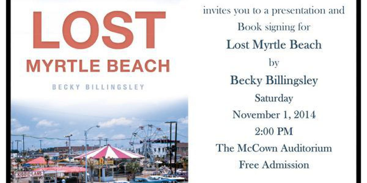 Local author to host book signing for 'Lost Myrtle Beach'