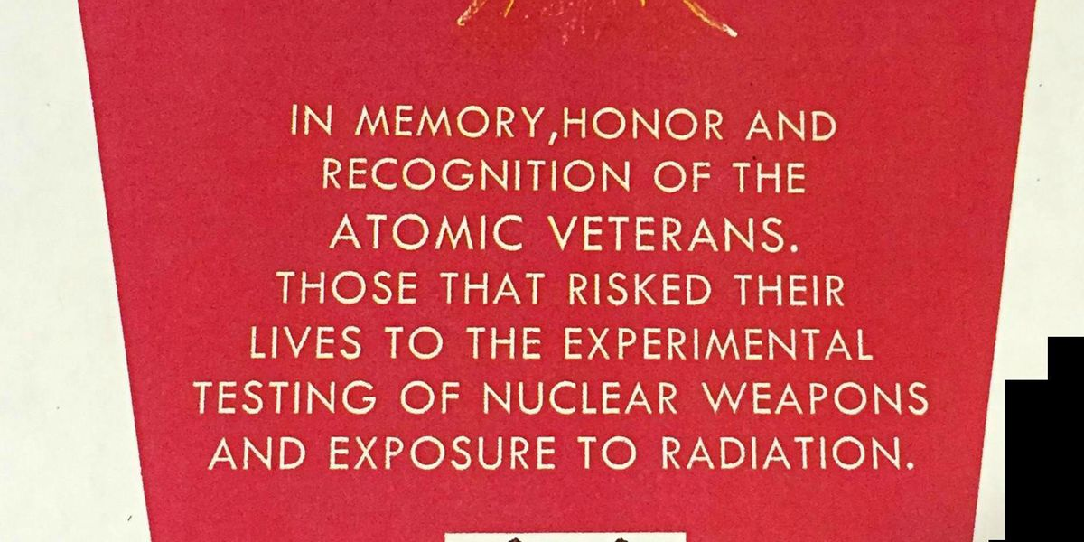 City to approve Atomic Veterans Memorial installation at Warbird Park