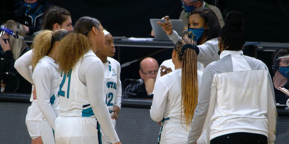 CCU Women's Basketball returns to the HTC Center this weekend