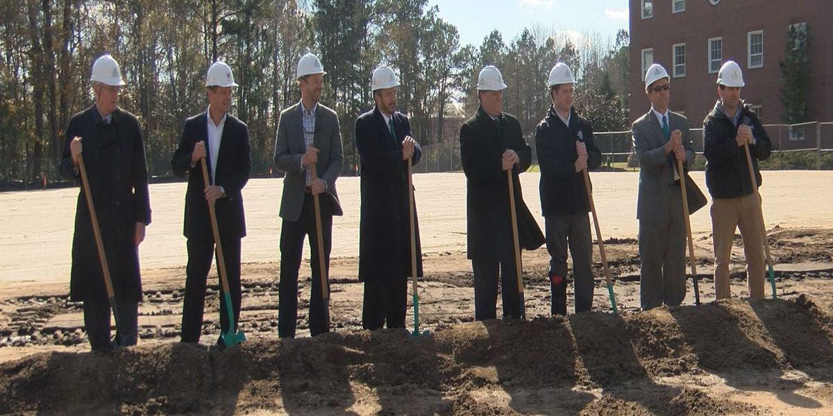 CCU breaks ground on new academic building