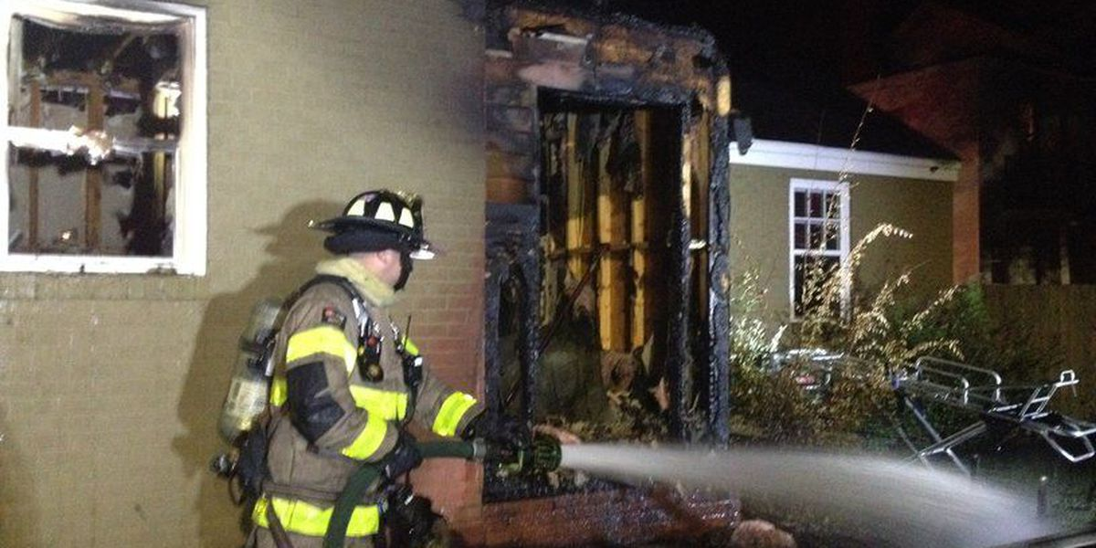 Fire crews battle heavy blaze in Florence Tuesday morning