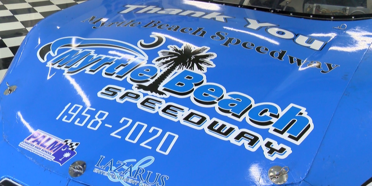 Local charter school creates special car for final race at Myrtle Beach Speedway