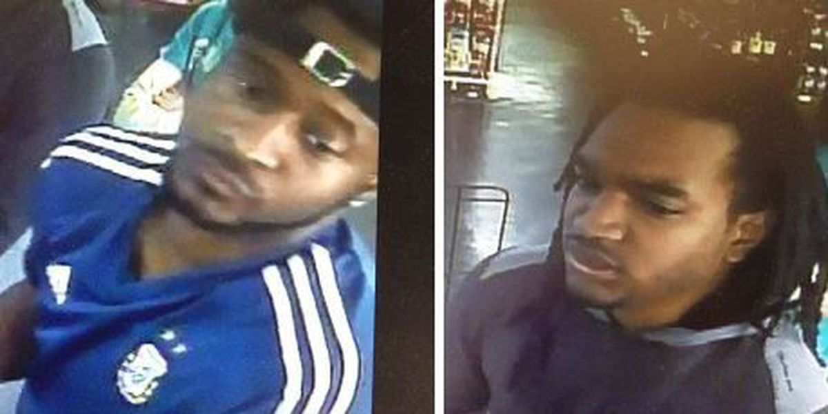 Lumberton police seek two for credit card fraud