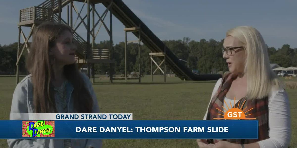 Dare Danyel: 80-foot slide at Thompson Farm