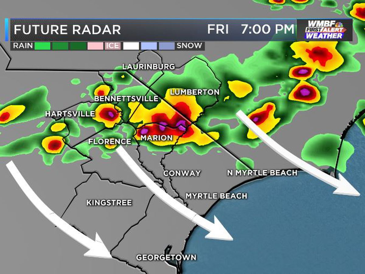 FIRST ALERT: Strong storms this evening