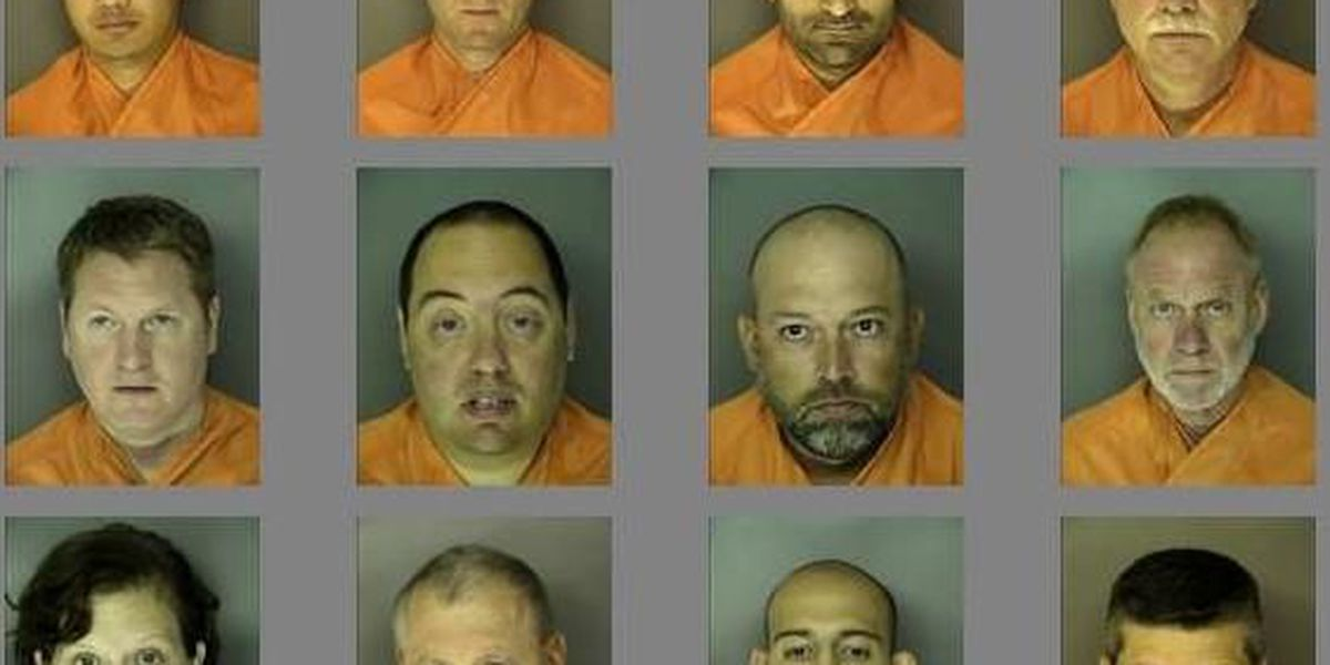 19 people arrested in Horry County online prostitution sting