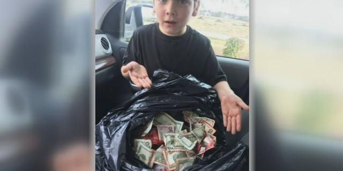Young boy, 7, finds cash from Horry County bank robbery
