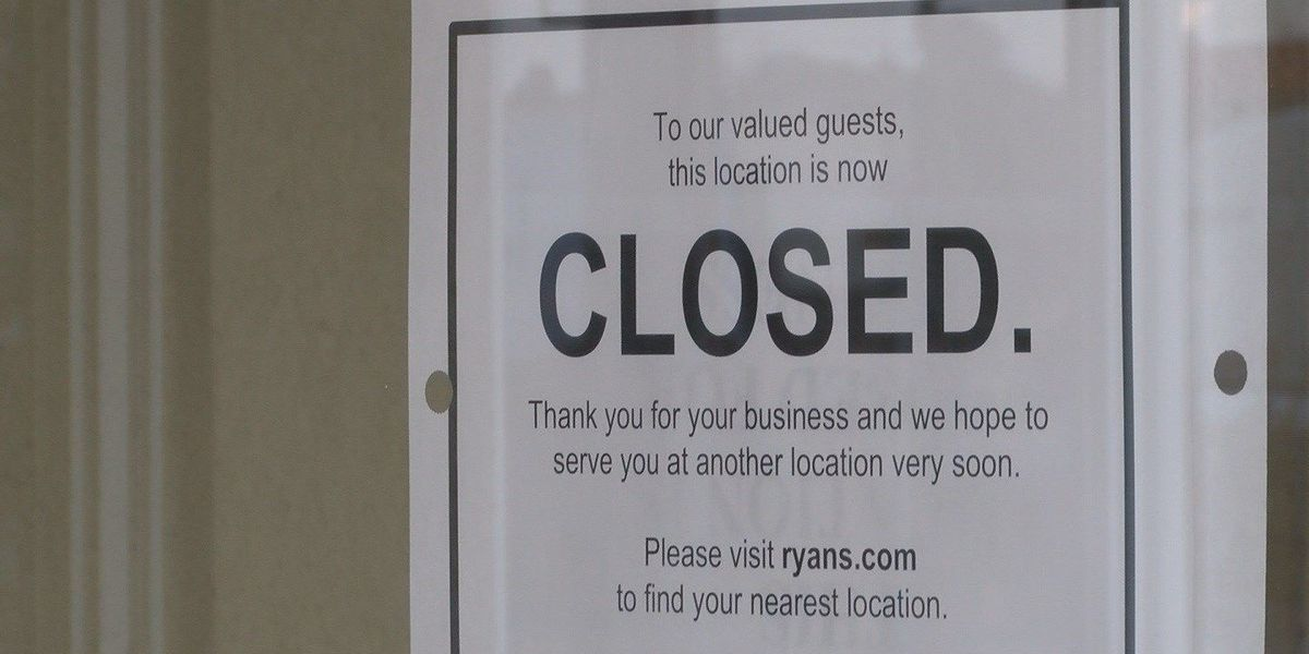Two Ryan's restaurants in Horry County close doors suddenly