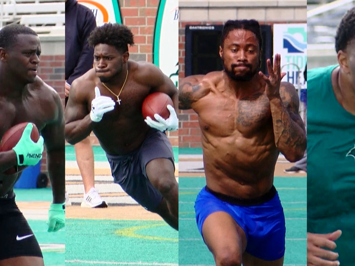 Handful of former Chants participate in Coastal's pro day
