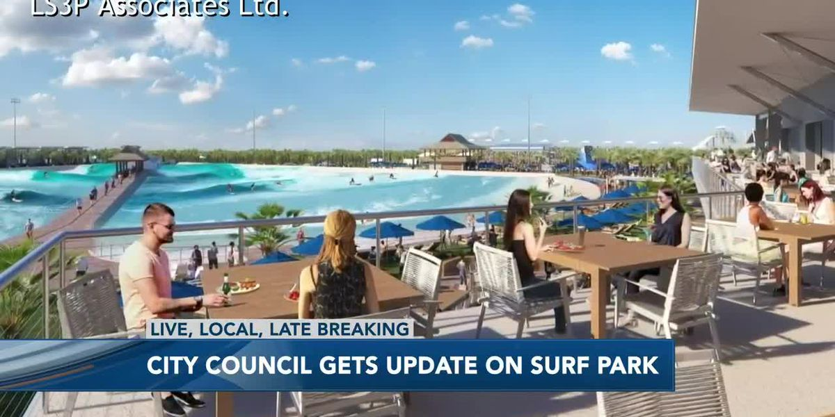 Project leaders for Myrtle Beach surf park discuss funding efforts