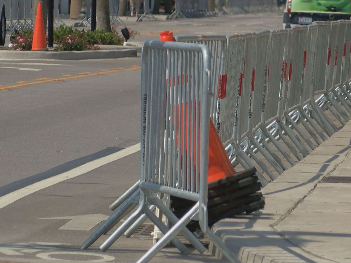 Cones, barricades line streets as Myrtle Beach preps for Atlantic Beach Bikefest