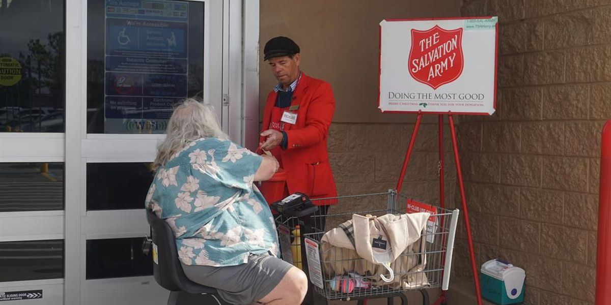 Conway man volunteering for The Salvation Army