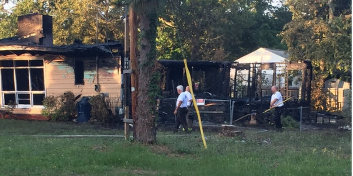 Myrtle Beach Fire Rescue investigates vacant house fire