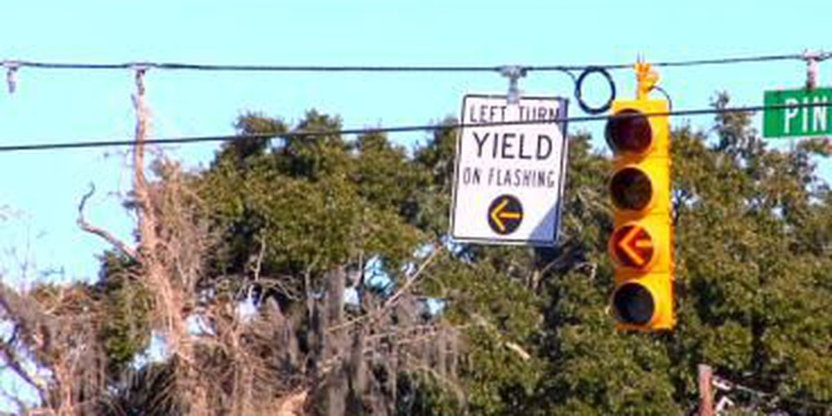 New flashing yellow arrow signals aim to improve safety