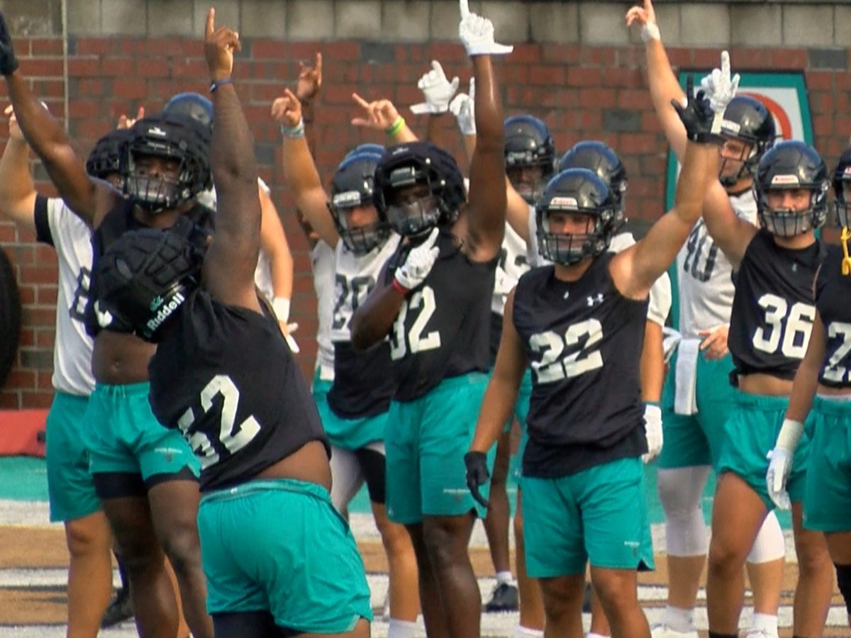 CCU football hits practice field for first day of fall camp