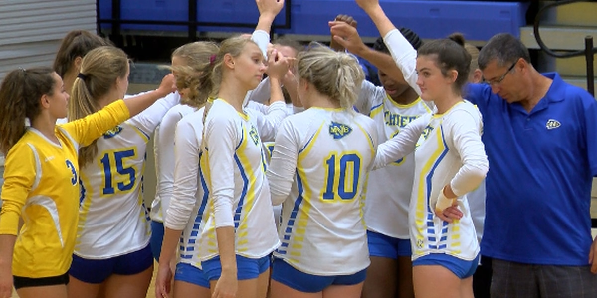 NMB volleyball enters crucial stretch undefeated in region play