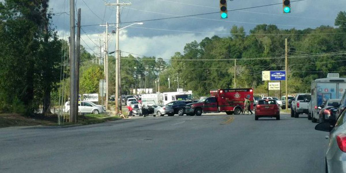 TRAFFIC ALERT: Crash blocks North Main Street in Conway