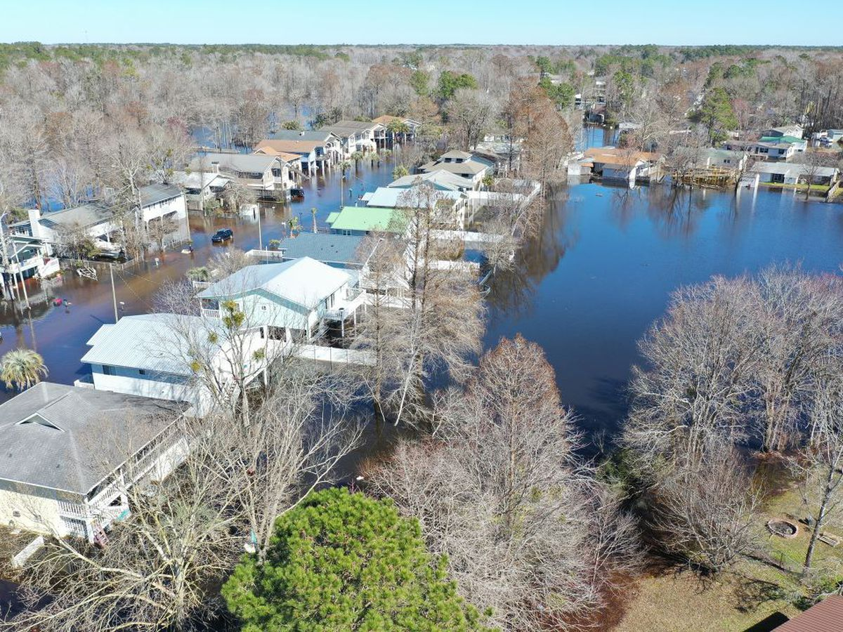 VIDEO: Recent rain brings flooding once again to Rosewood neighborhood in Socastee