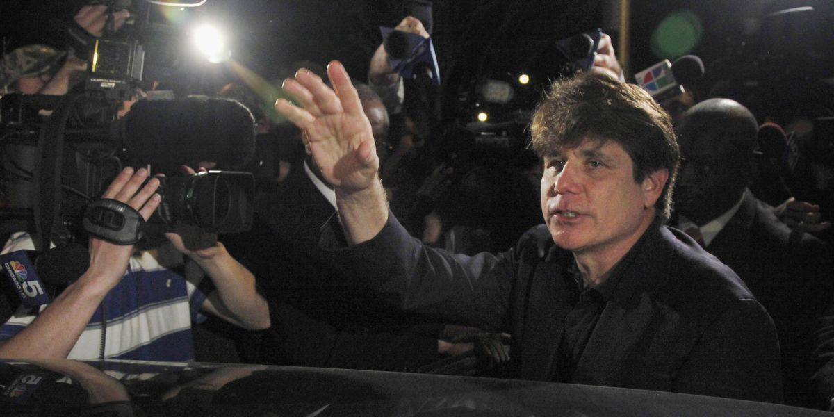 Trump commutes Blagojevich sentence, pardons others