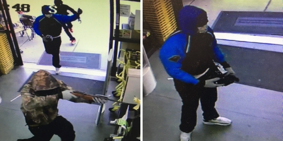 Georgetown County deputies release pictures of Dollar General robbery suspects