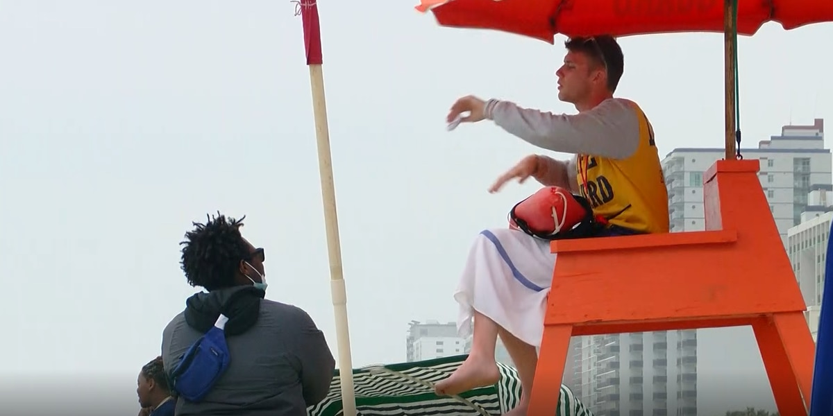 Lifeguards take new approach to keep people safe as they return to Grand Strand beaches