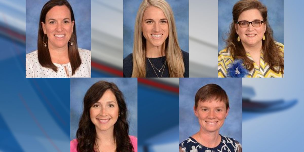 Five finalists named for Horry County Schools' 'Teacher of the Year'