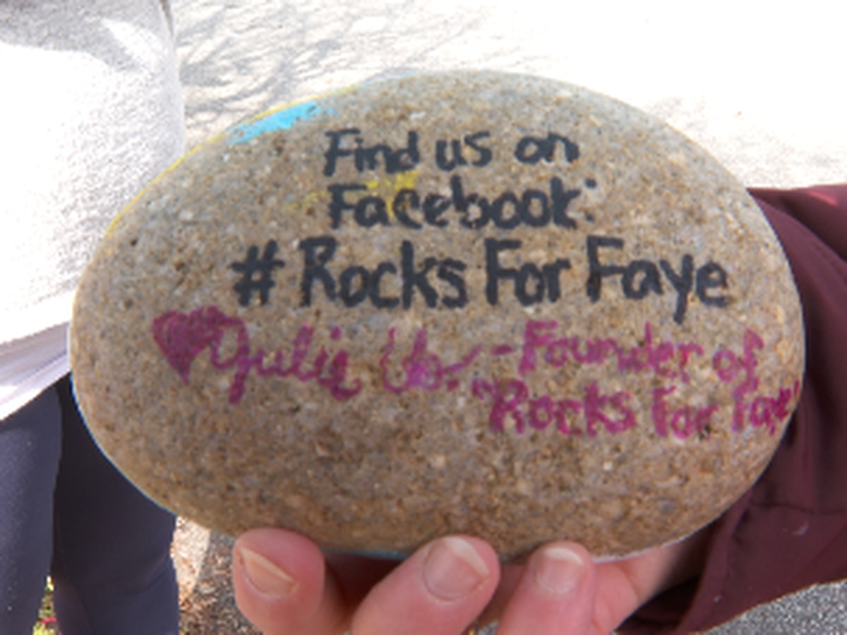#RocksForFaye: People across the world keep Faye Swetlik's memory alive