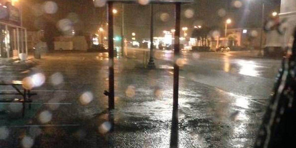 Florence County received heavy rainfall Friday, moves to OPCON 4