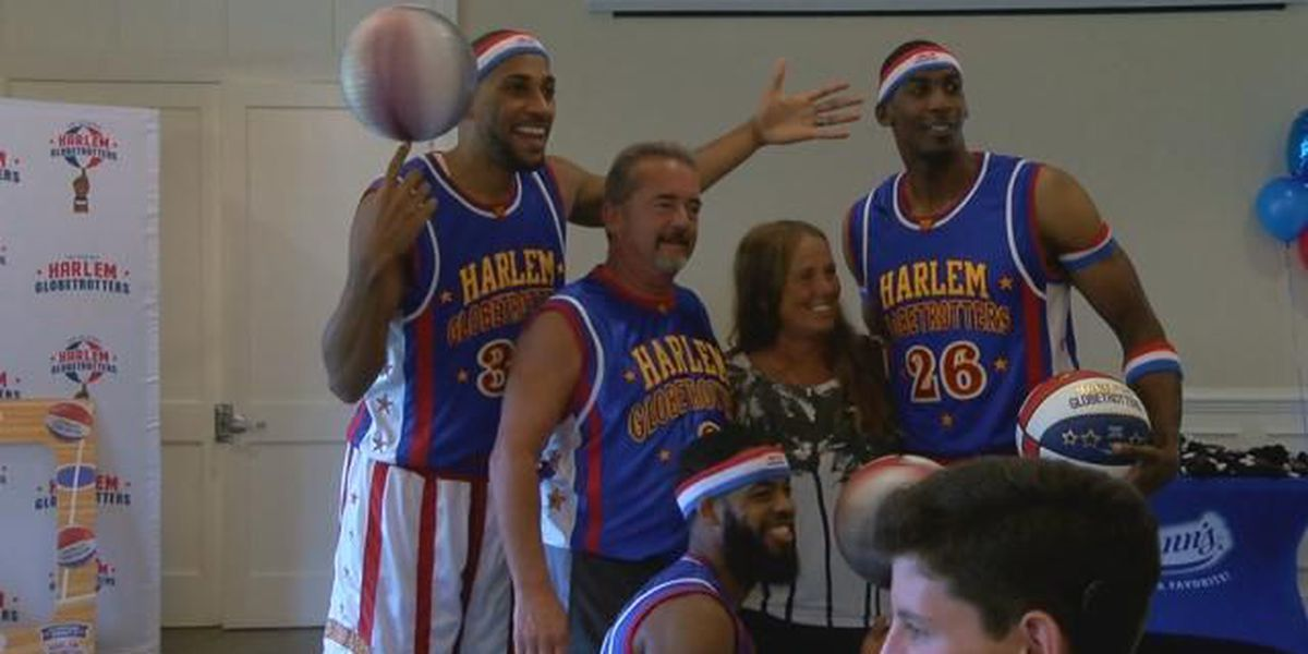Myrtle Beach woman wins private party with the Harlem Globetrotters
