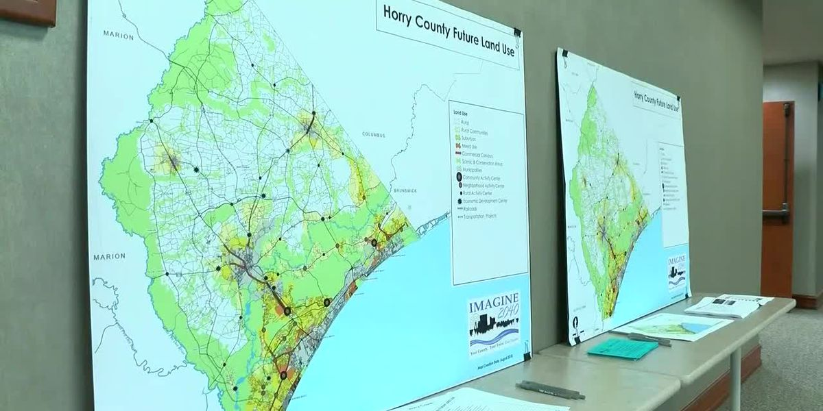 A plan for the future: Imagine 2040 plan to go before Horry County Council next week