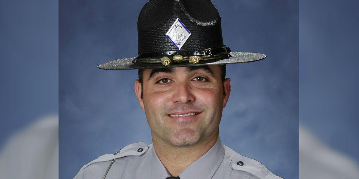 Area law enforcement show support for NC Highway Patrol after trooper shot, killed