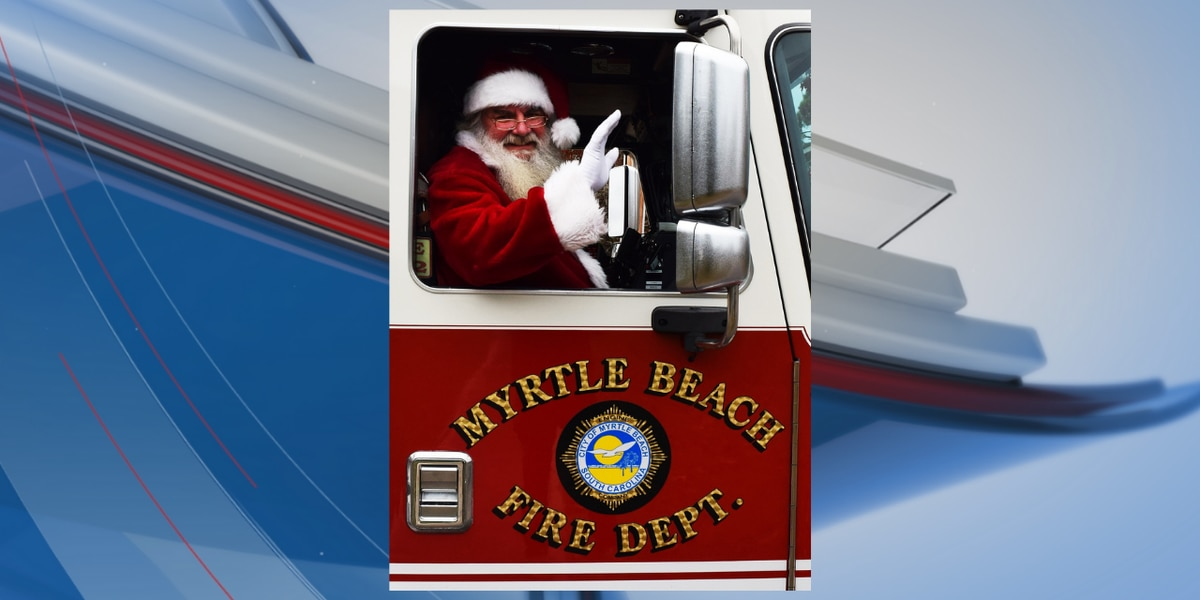 Santa Claus to visit Myrtle Beach neighborhoods Sunday