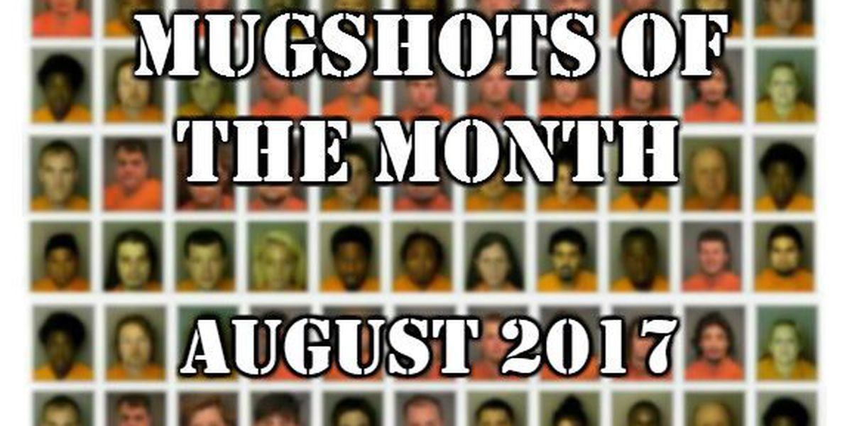 Mugshots of the Month - August 2017